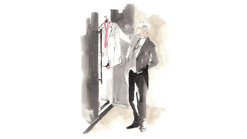 The St. Regis Istanbul Laundry Delivery Illustration