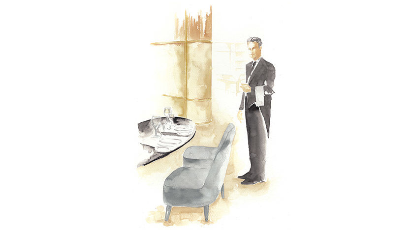The St. Regis Istanbul Butler Private Dining Illustration