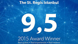 Booking.com Guest Review Award, The St. Regis Istanbul